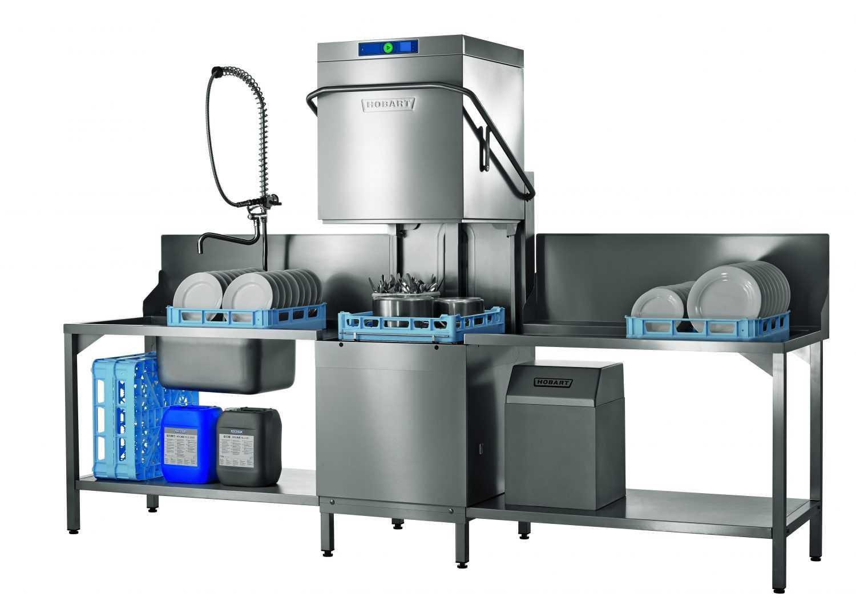 Hobart PROFI AMX-V Glass & Dishwasher With VAPOSTOP