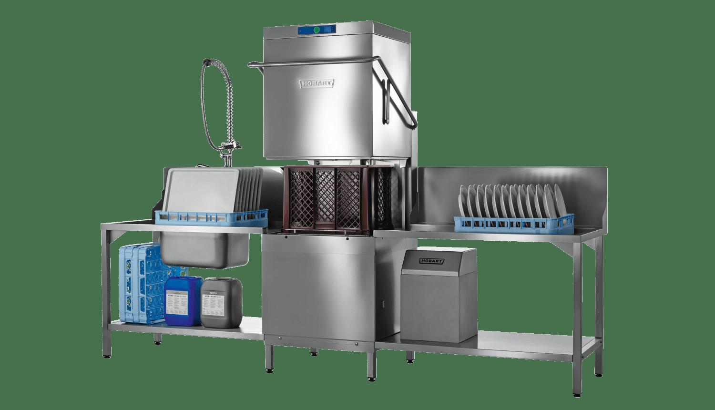 Hobart PROFI AMXXL-V Glass & Dishwasher (large) With VAPOSTOP