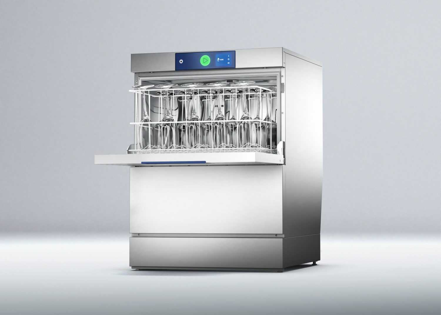Hobart PROFI GXCROI-90B Low Body Glasswasher with Integrated Reverse Osmosis