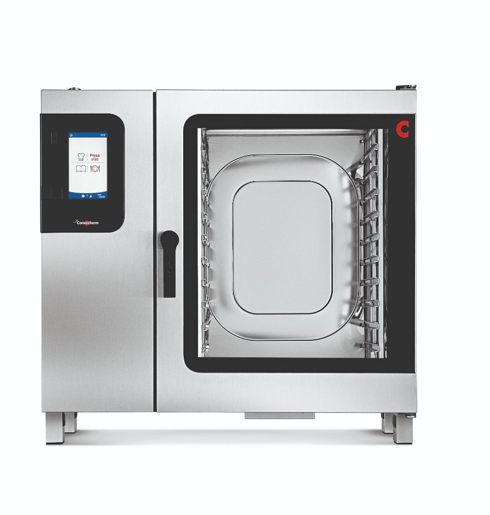 Convotherm C4EBT10.20CD - 22 Tray Electric Combi-Steamer Oven - Boiler System - Disappearing Door