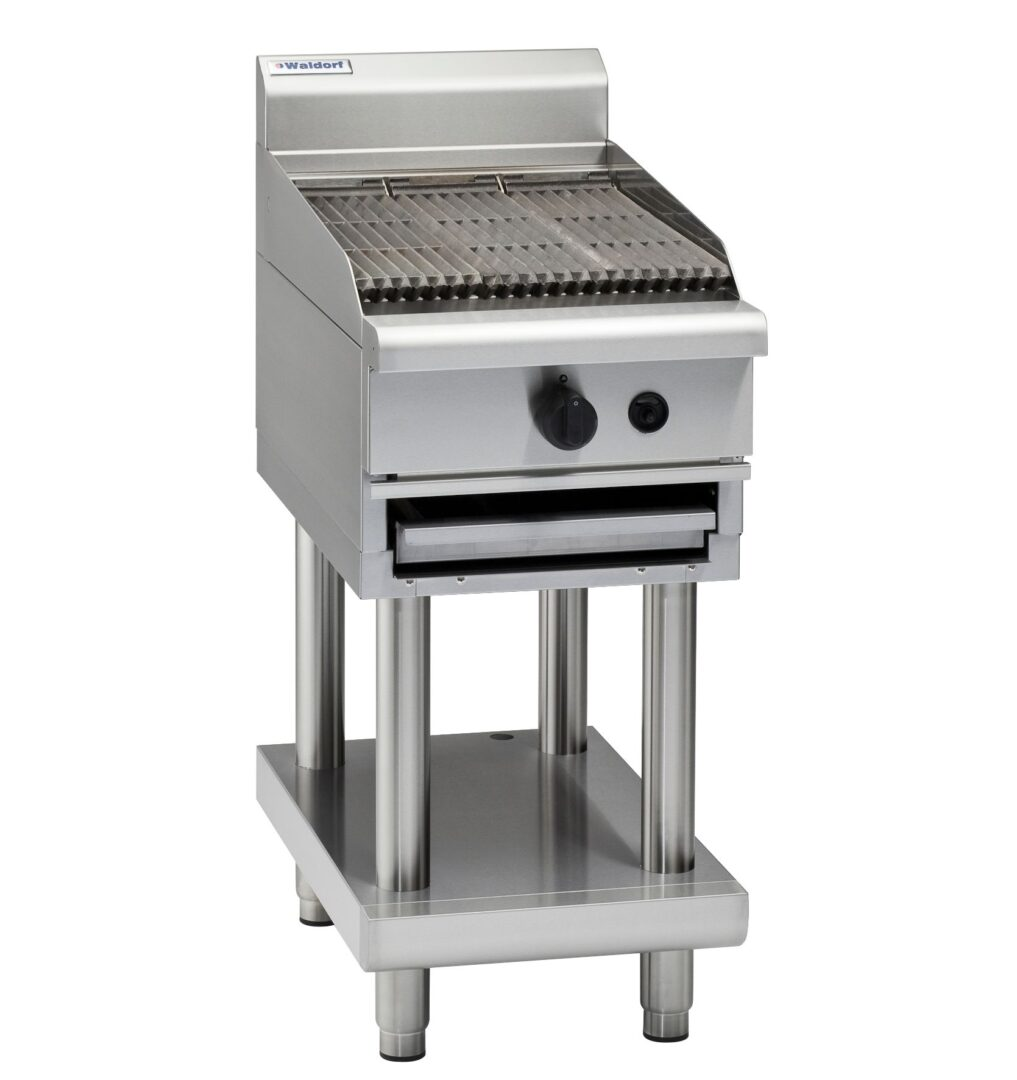 Waldorf 800 Series CH8450G-LS – 450mm Gas Chargrill – Leg Stand