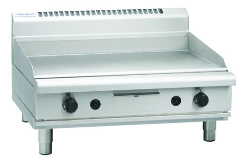 Waldorf 800 Series GPL8900G-B – 900mm Gas Griddle Low Back Version Bench Model