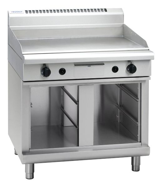 Waldorf 800 Series GP8900G-CB – 900mm Gas Griddle – Cabinet Base