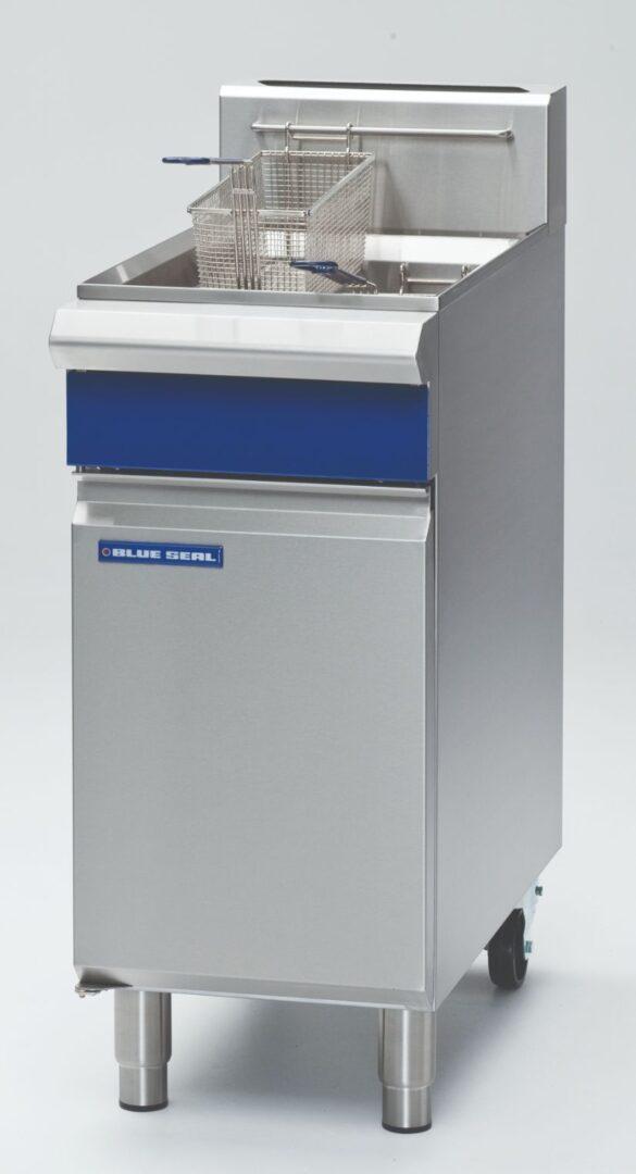 Blue Seal Evolution Series GT18 - 400mm Single Pan Gas Fryer