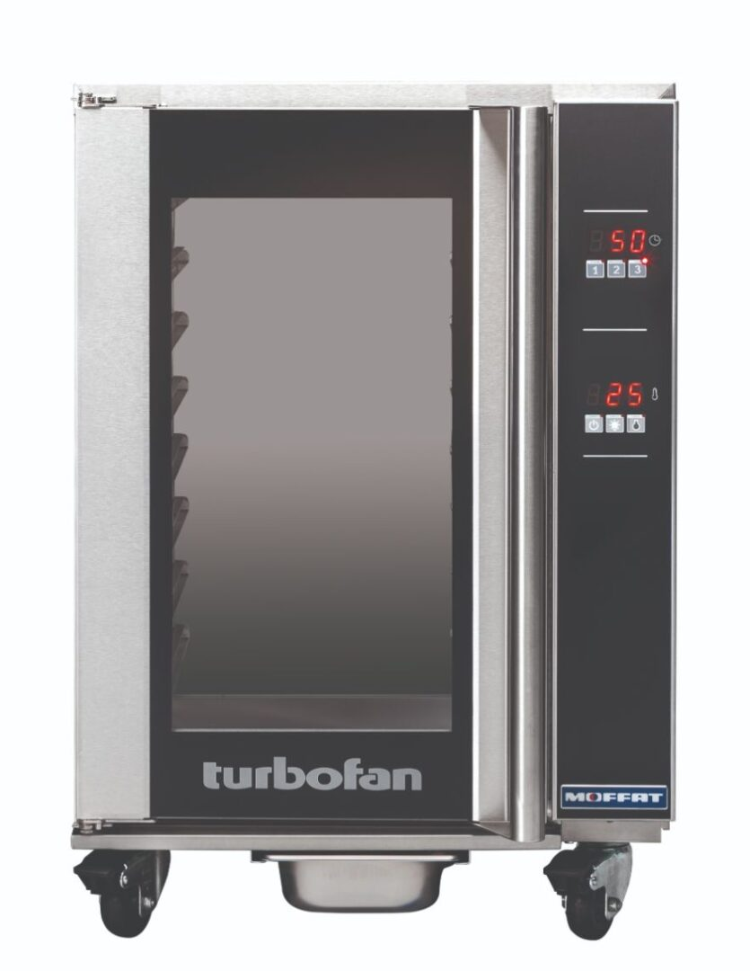 Turbofan H8D-UC – 8 Tray 1/1 GN Digital Electric Undercounter Holding Cabinet
