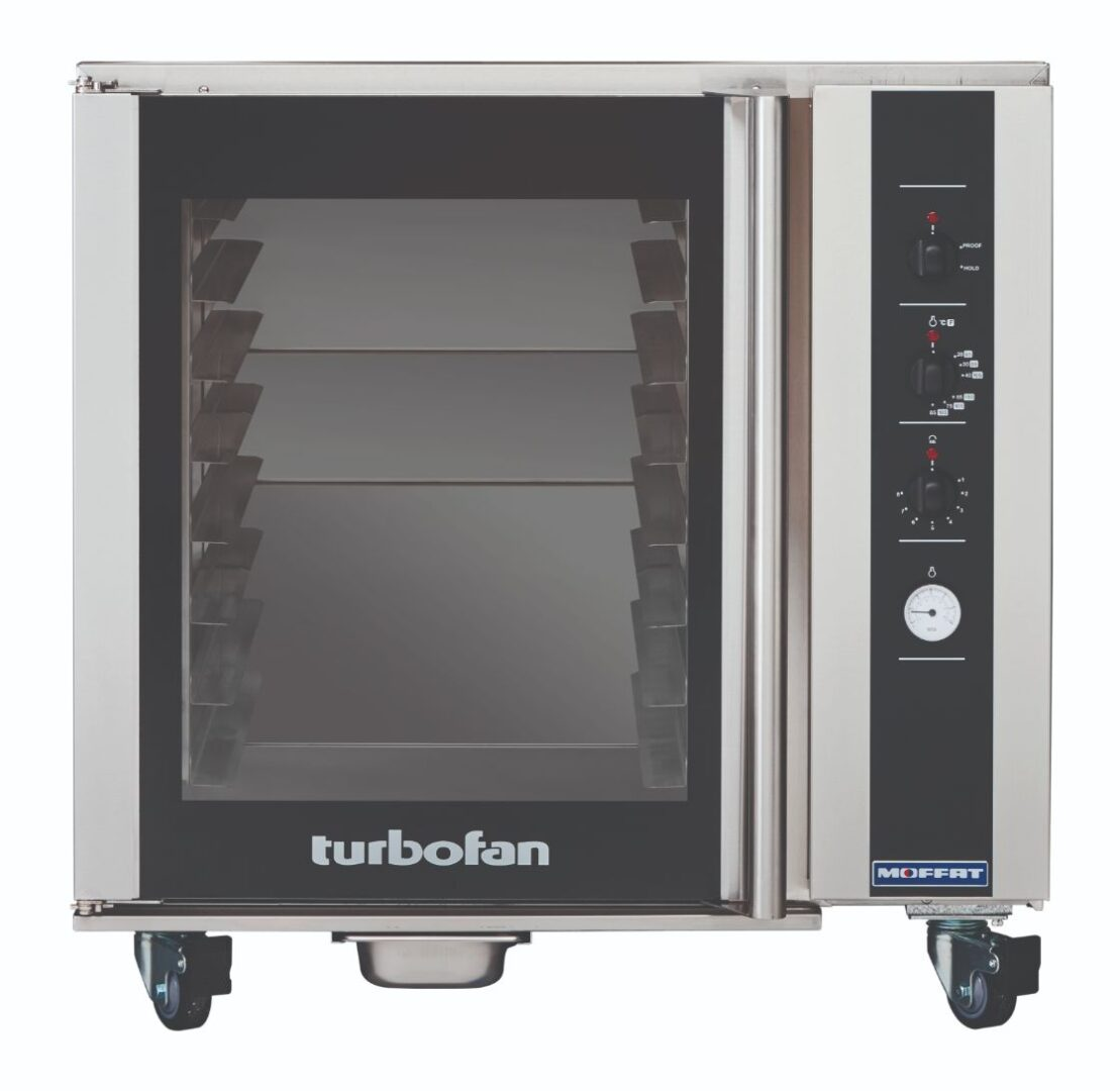 Turbofan P85M8 – Prover / Holding Cabinet – Full Size 8 Tray Electric / Manual Double Stacked
