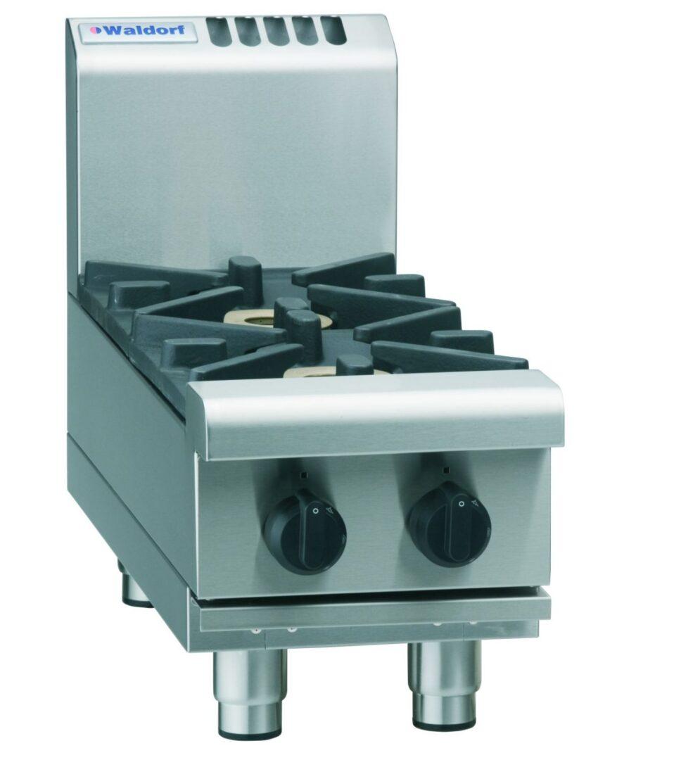 Waldorf 800 Series RNL8200G-B – 300mm Gas Cooktop Low Back Version – Bench Model