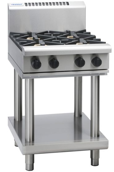 Waldorf 800 Series RN8406G-LS – 600mm Gas Cooktop – Leg Stand