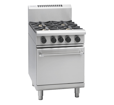 Waldorf 800 Series RNL8416G – 600mm Gas Range Static Oven Low Back Version