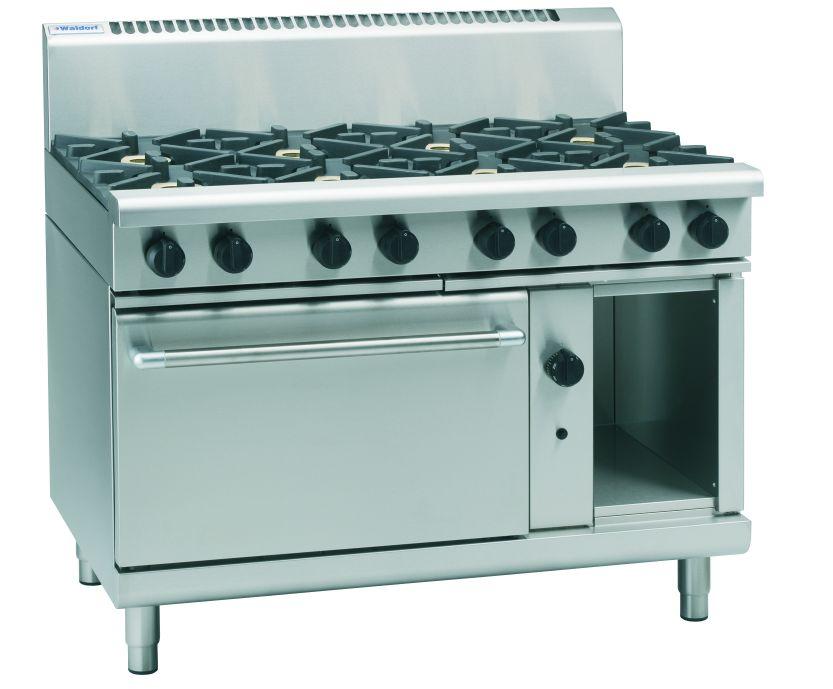 Waldorf 800 Series RN8810G – 1200mm Gas Range Static Oven