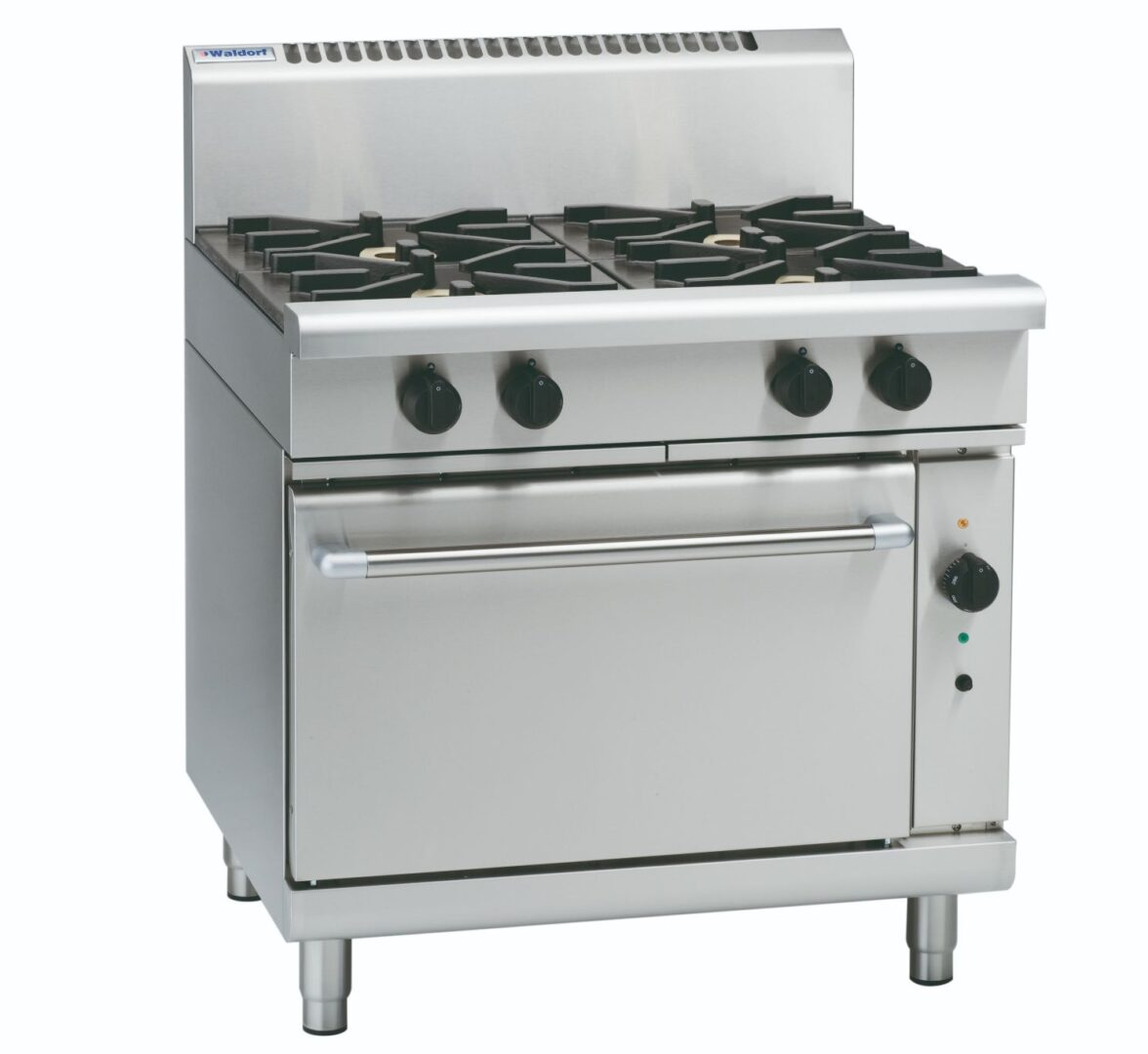 Waldorf 800 Series RNL8910GC – 900mm Gas Range Convection Oven Low Back Version