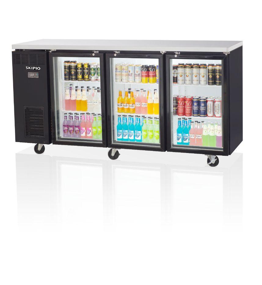 Skipio SBB-3G Side Back Bar Refrigerator