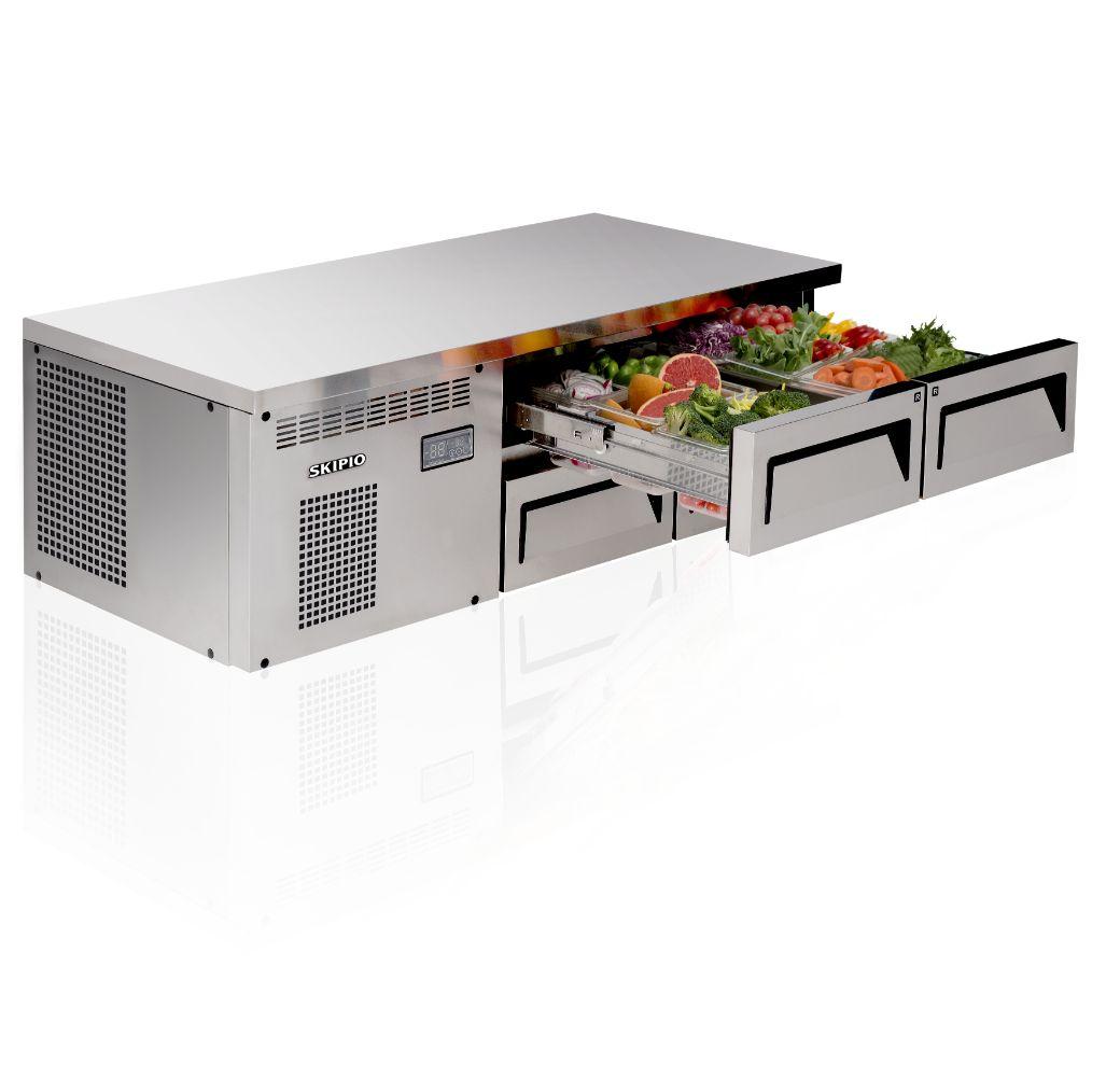 Skipio SCB14-4 Chef Base Refrigerator