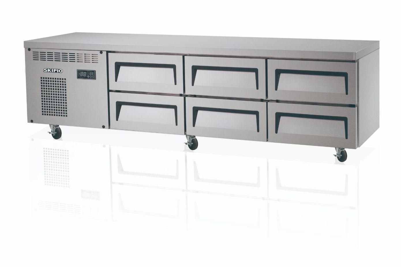 Skipio SCB18-6 Chef Base Refrigerator