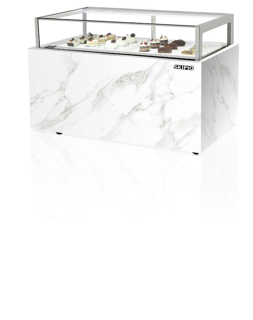 Skipio SCD-1200D Chocolate Case  Refrigerator