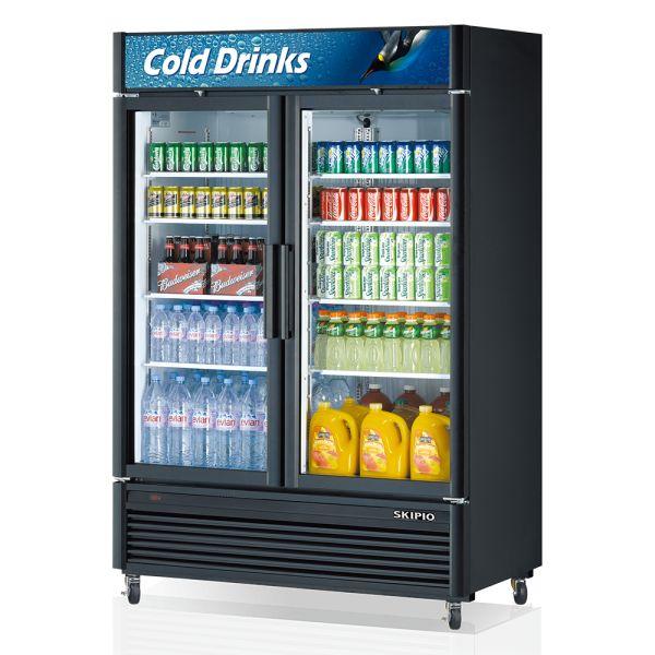 Skipio SGM-49 Glass Door Merchandiser Refrigerator
