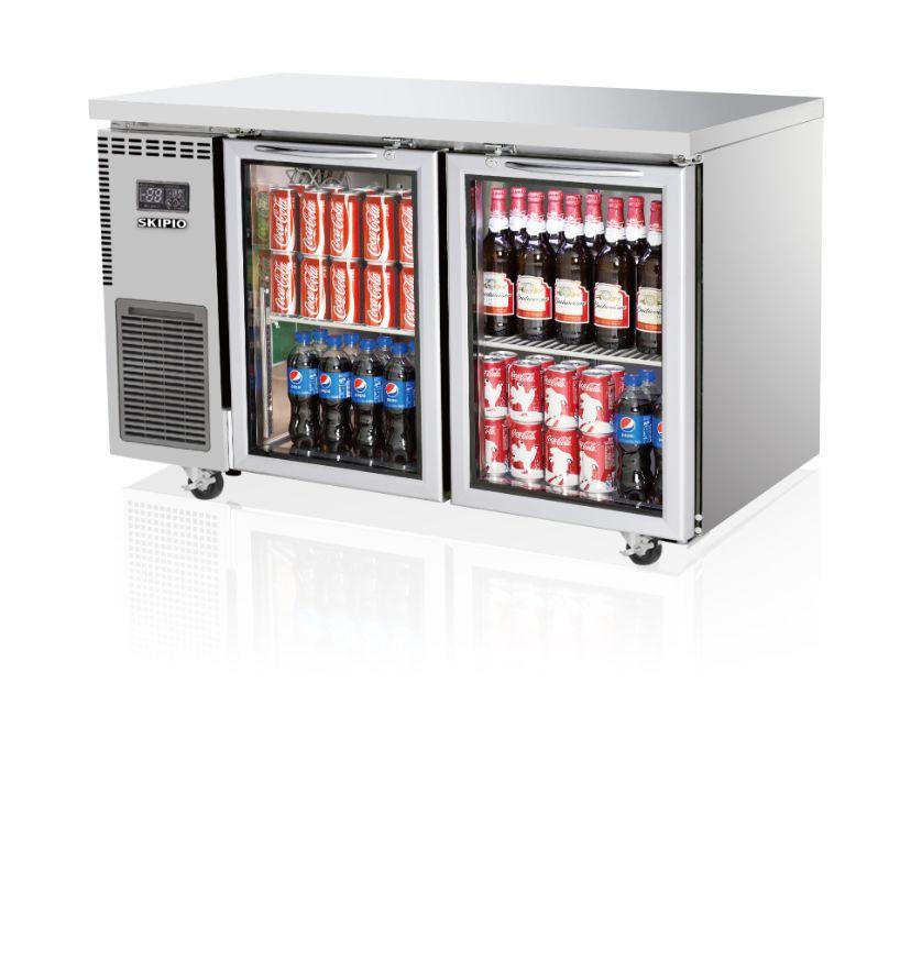 Skipio SGR12-2 Undercounter (Glass Door) Refrigerator
