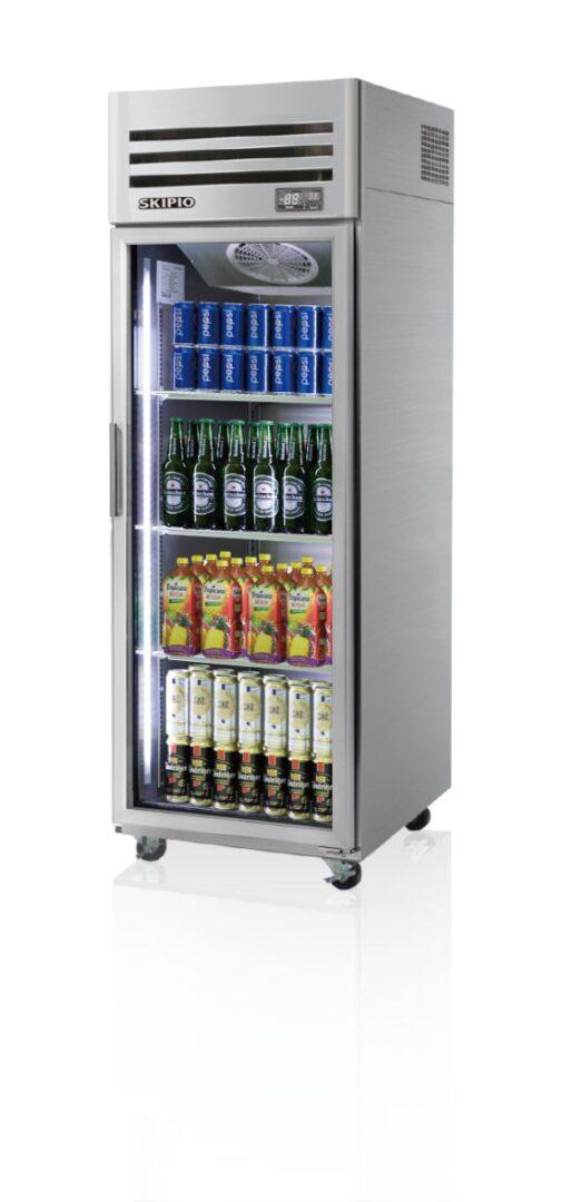 Skipio SRT25-1G Reach-in(Glass Door) Refrigerator