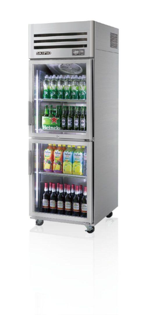 Skipio SRT25-2G Reach-in(Glass Door) Refrigerator