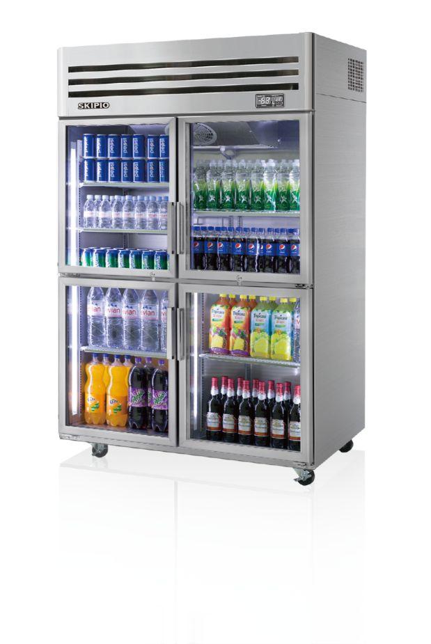 Skipio SRT45-4G Reach-in(Glass Door) Refrigerator