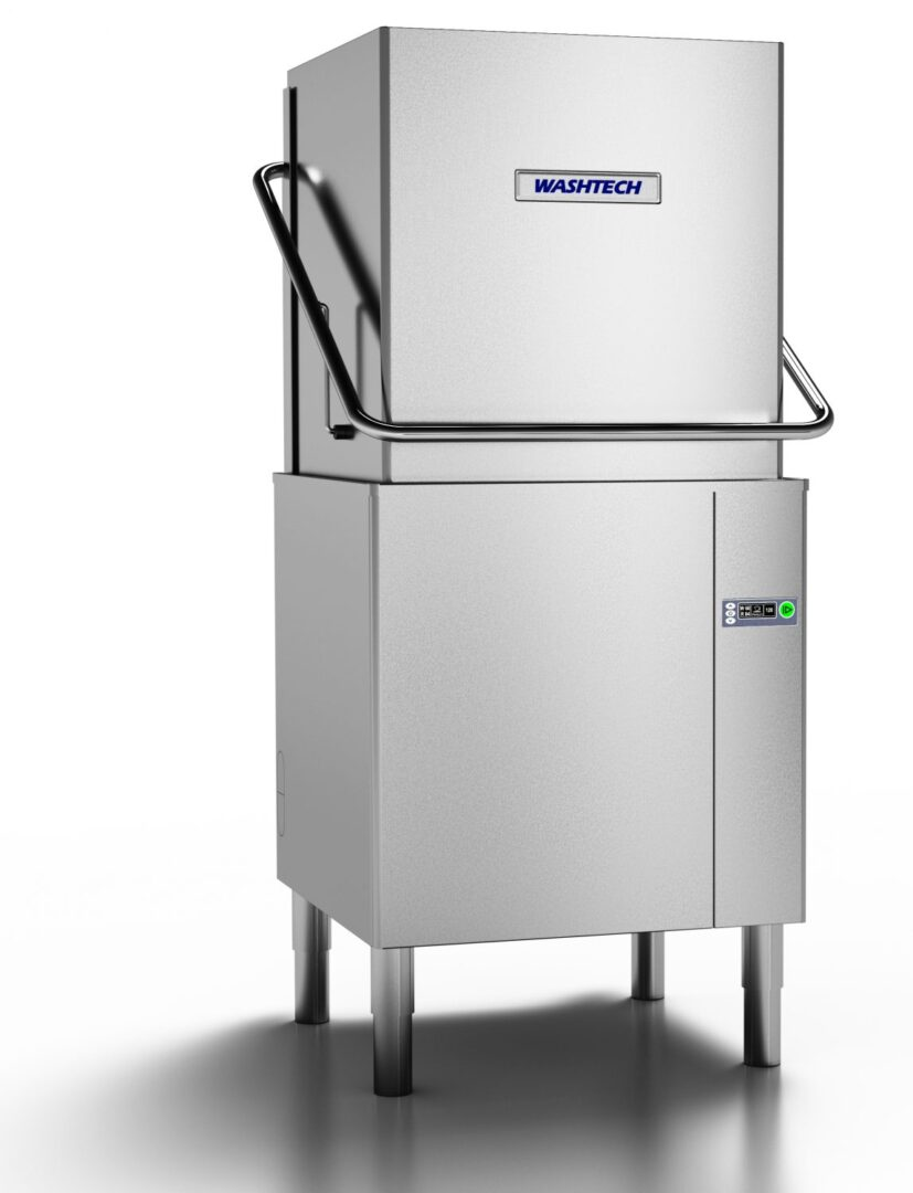 Washtech AL - Premium Fully Insulated Passthrough Dishwasher - 500mm Rack