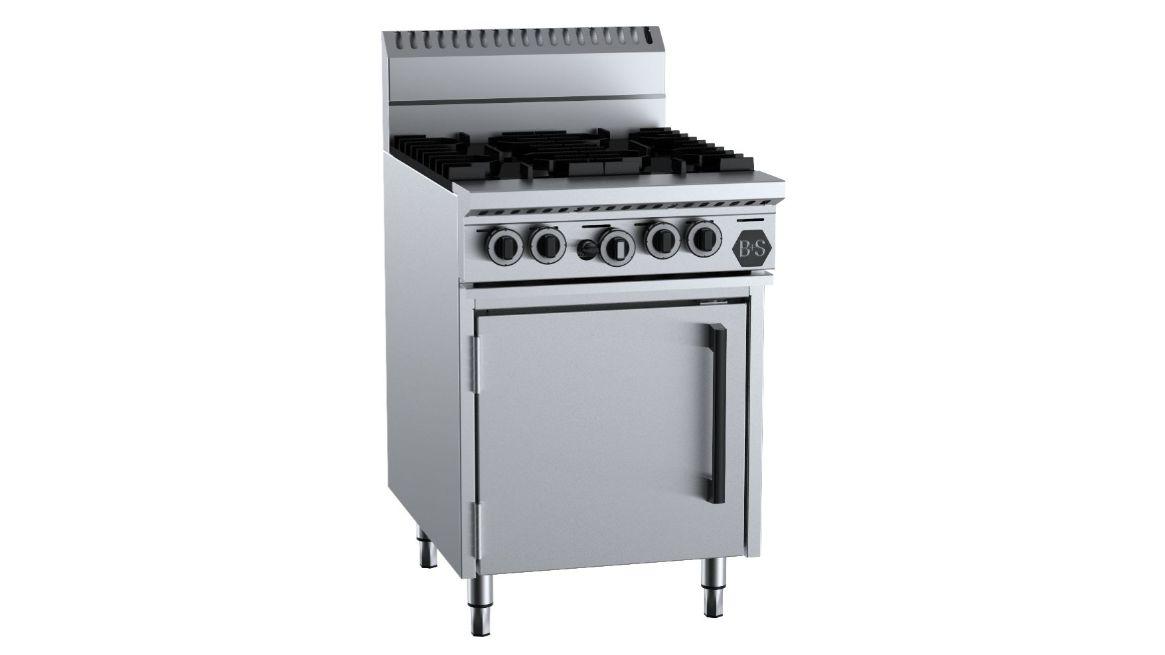 B+S OV-SB4 Four Burner Oven
