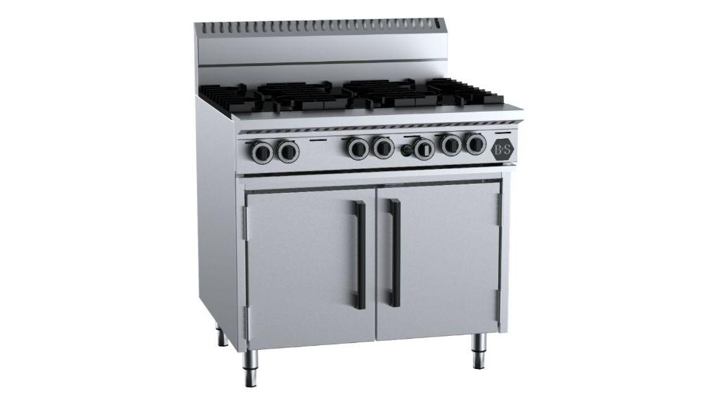 B+S OV-SB6 Six Burner Oven
