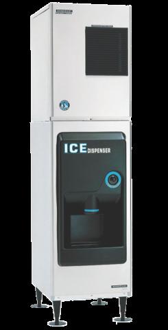 Hoshizaki DB-130H-Hotel Modular Base Unit 58kg storage - Hotel Ice Dispenser