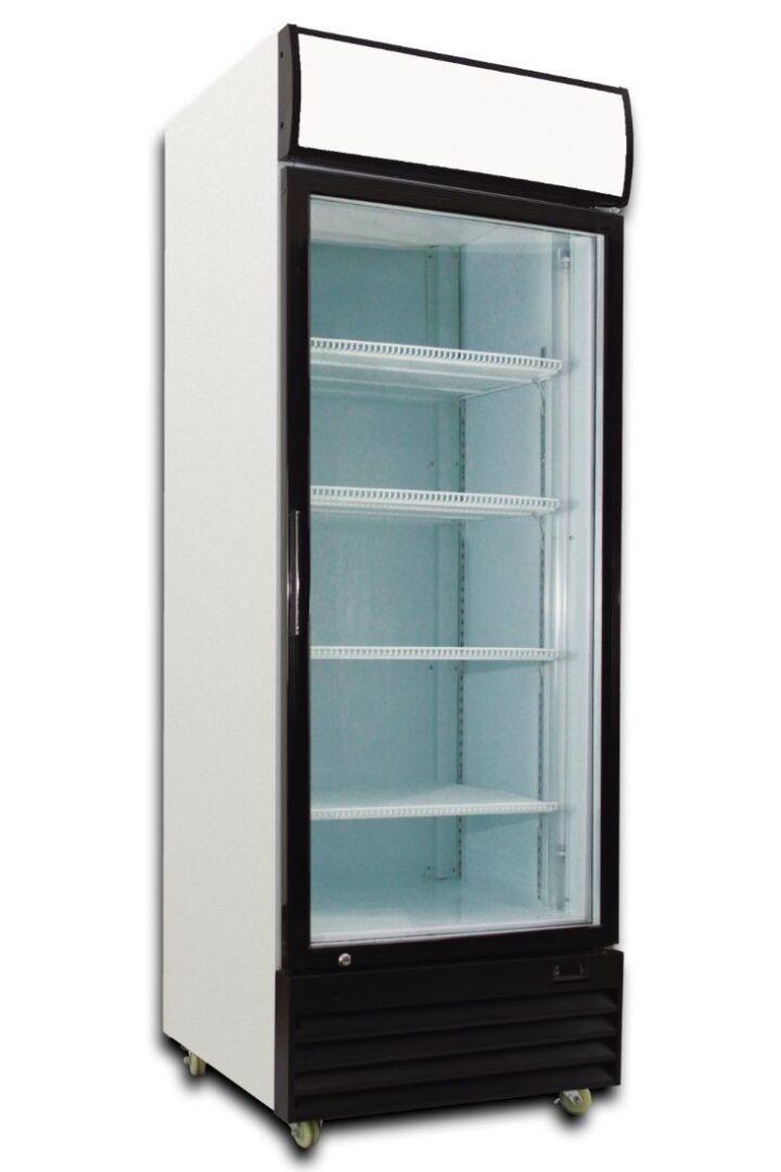Saltas DFS0380 Single Glass Door Fridge
