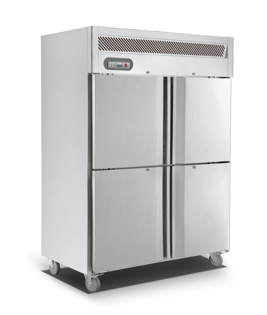 Saltas EUS2142 Upright Double Split Door S/S Freezer