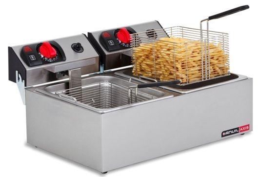 Anvil FFA0002 Fryer Deep Fat Double Pan