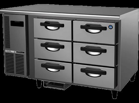 Hoshizaki FTC-125DEA-GN-6D 6 Drawer 100mm Deep Gastronorm Underbench Freezer