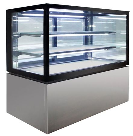 Anvil Aire NDHV3730 Square Glass 3 Tier Hot Display 900mm