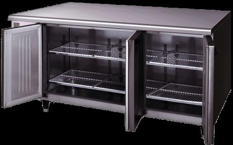 Hoshizaki RTE-170SDA-GN-ML Pillarless 3 Door Undercounter Refrigerator