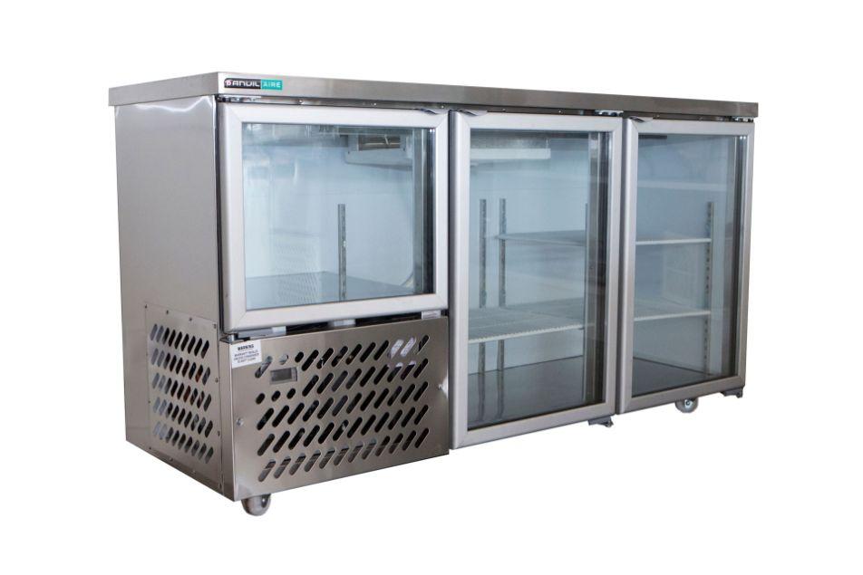 Anvil Aire UBG6180 Glass Door Back Bar 1800mm