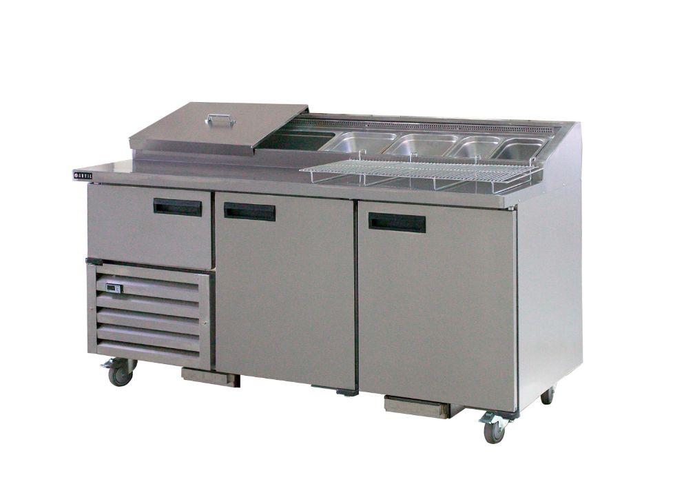 Anvil Aire UBP1800 Pizza Bar (2 1/2 Doors) 1800mm