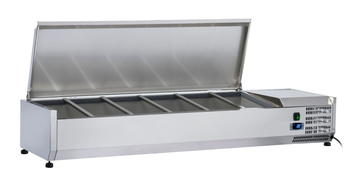 Anvil VRX1200S Refrigerated Ingredient Unit with S/S Lid