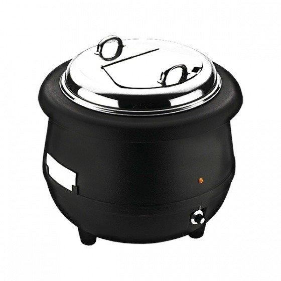 Sunnex Soup Warmer-Black Body, 10.0lt