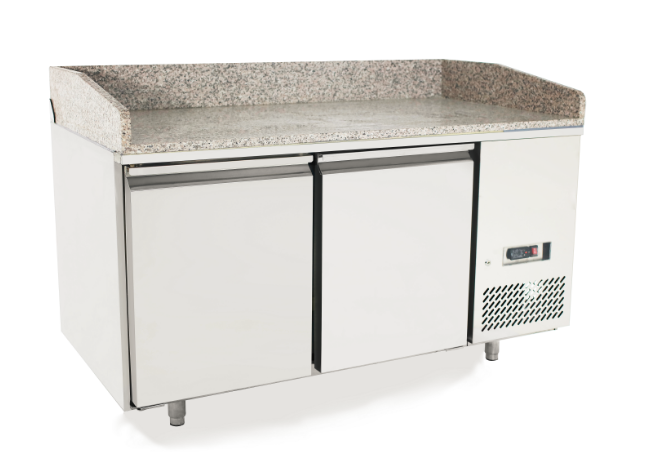 Atosa EPF3495 2 Door Refrigerated Pizza Table 1510 mm