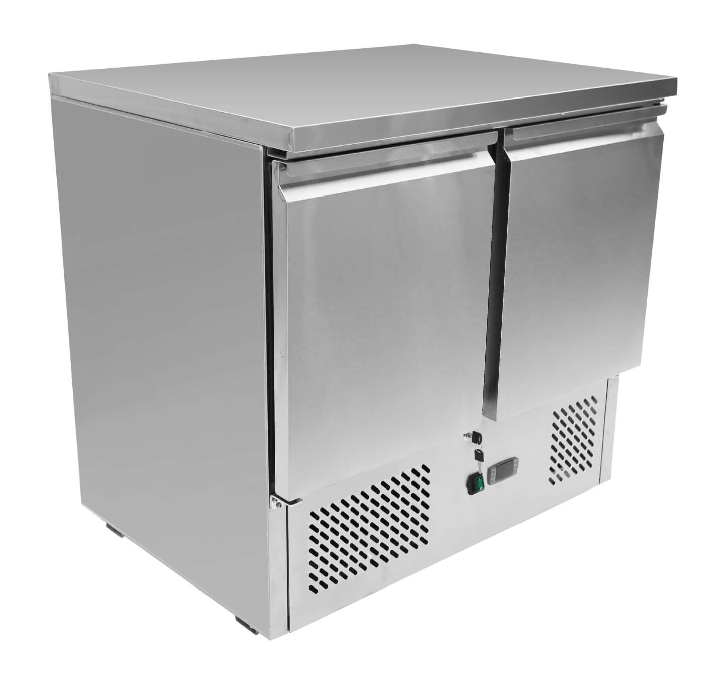 Atosa ESL3801 2 Doors Table Saladette 900 mm