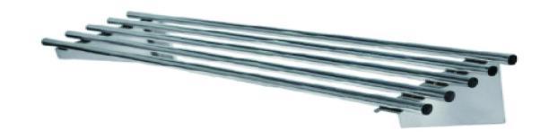 Simco PWS15 Pipe Wall Shelves-W1500 x D300 x H255