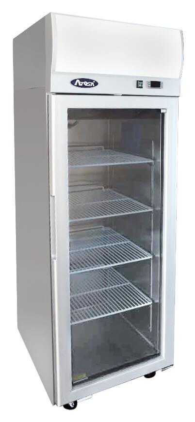 Atosa YCF9407 Top Mounted Single Door Glass Freezer