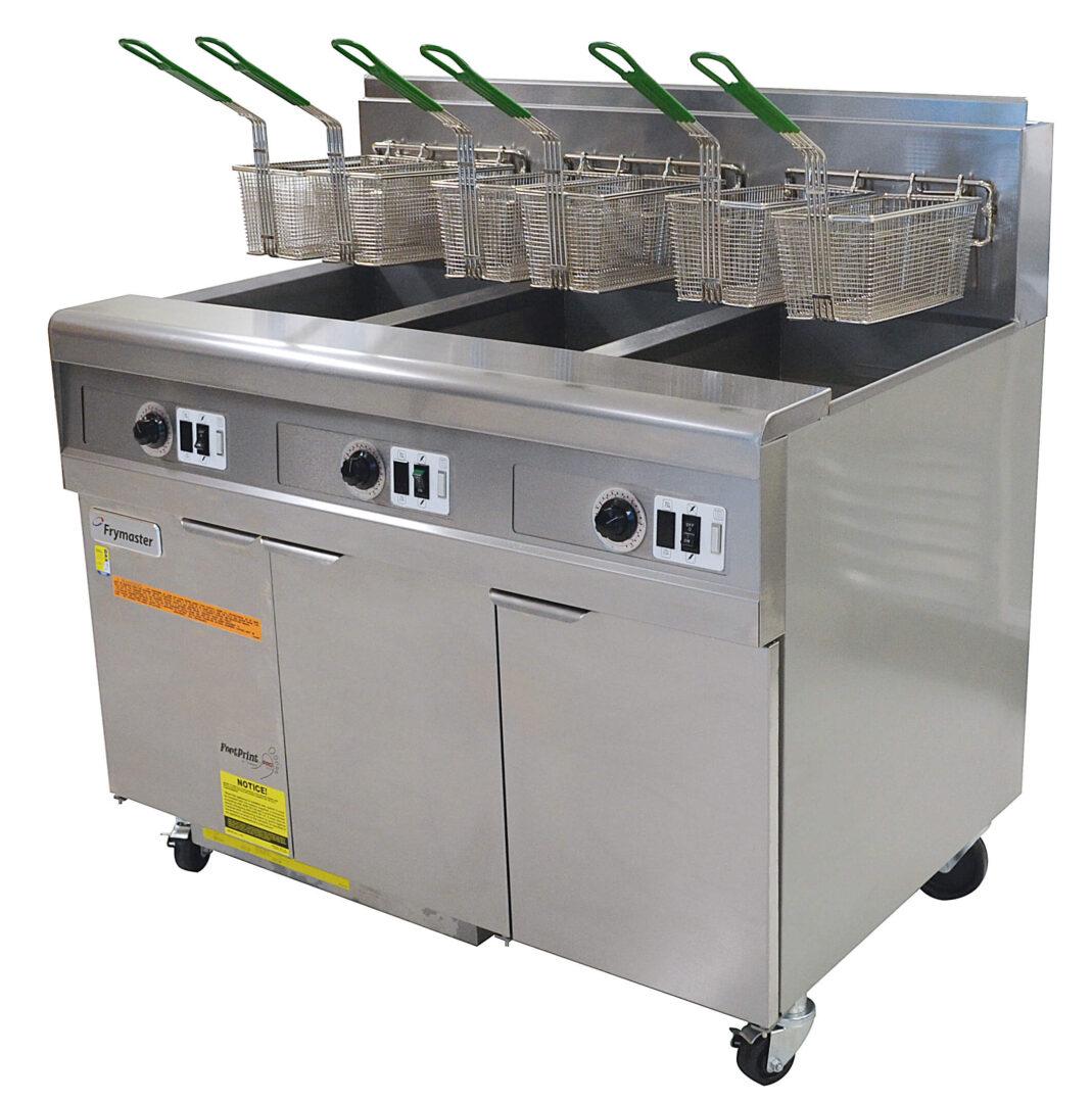 Frymaster FMJ350-NG Footprint Pro 3 x PMJ150 Fryer Nat Gas