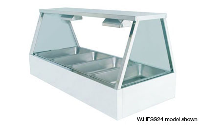 Woodson W.HFSS23 3 Module Self Serve Hot Food Display