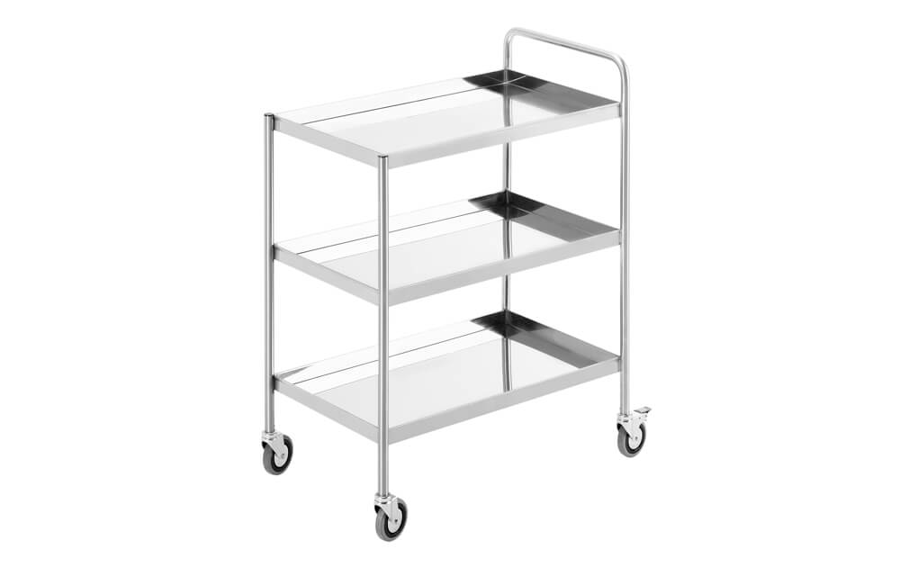 Simply Stainless SS15 Three Tier Trolley